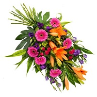 Sheaf flower bouquet